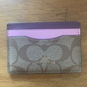 Coach Card Holder/Wallet